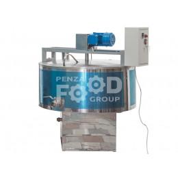 Газовые варочные котлы вместимостью от 160 до 1000 литров