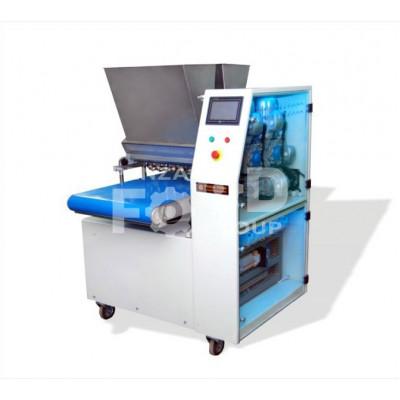 ТОМ 200М: машина отсадочная двухбункерная (на противень) для производства сдобного и песочного печенья, двухцветных кондитерских изделий, а также изделий из теста с начинкой