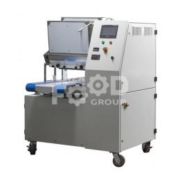 ТОМ 200М: машина отсадочная двухбункерная (на ленту) для производства сдобного и песочного печенья, двухцветных кондитерских изделий, а также изделий из теста с начинкой